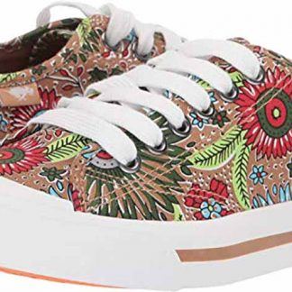 Floral Art Canvas Fashion Sneaker