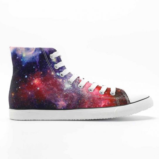 Colorful Galaxy Milky Way Sneakers
