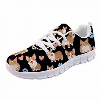 Corgi Pattern Canvas Fashion Sneakers
