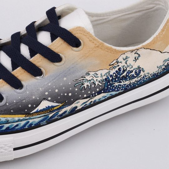 The Great Wave off Kanagawa Sneakers