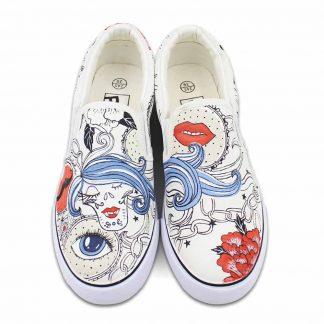 Cute Minimal Art Sneakers