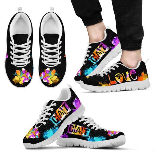 LOVE CAT ART@ proudnursing catart1239@sneakers 25528