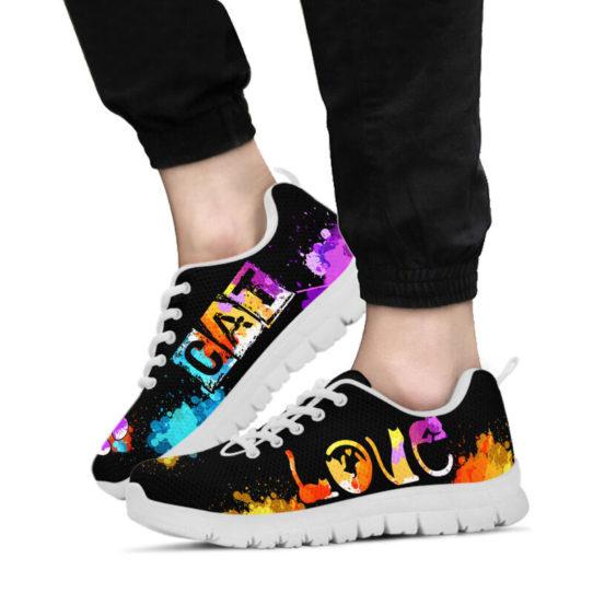 LOVE CAT ART@ proudnursing catart1239@sneakers 25529