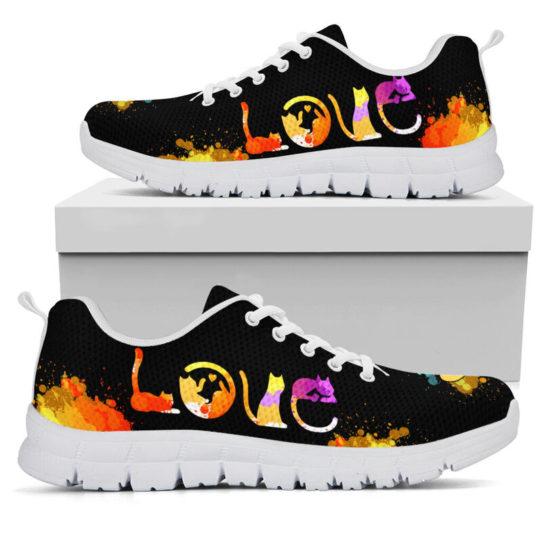 LOVE CAT ART@ proudnursing catart1239@sneakers 25530