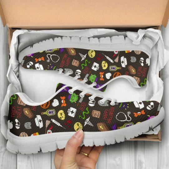 NURSE HALLOWEEN PT@ proudnursing NURSEHALLOWEENPT@sneakers 25720