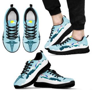 NURSE - I MUST GO AL SHOES@ proudnursing nurseam0515265@sneakers 26220