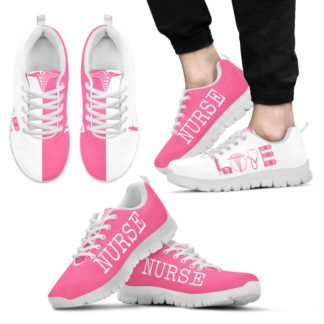 NURSE- LOVE PINK WHITE@ proudnursing NURSELOVEPINKWHITE6556C@sneakers 25779