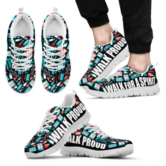NURSE - WALK PROUD@ proudnursing nursewp0546464@sneakers 26409