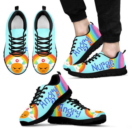 NURSE - angry kd@ proudnursing nurseiksjdj1414@sneakers 25653