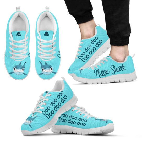 NURSER SHARK DOO DOO DOO@ proudnursing NURSERSHARK@sneakers 26346