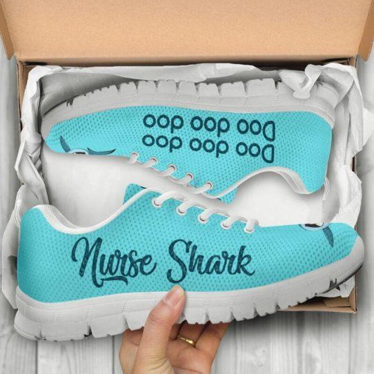 NURSER SHARK DOO DOO DOO@ proudnursing NURSERSHARK@sneakers 26350