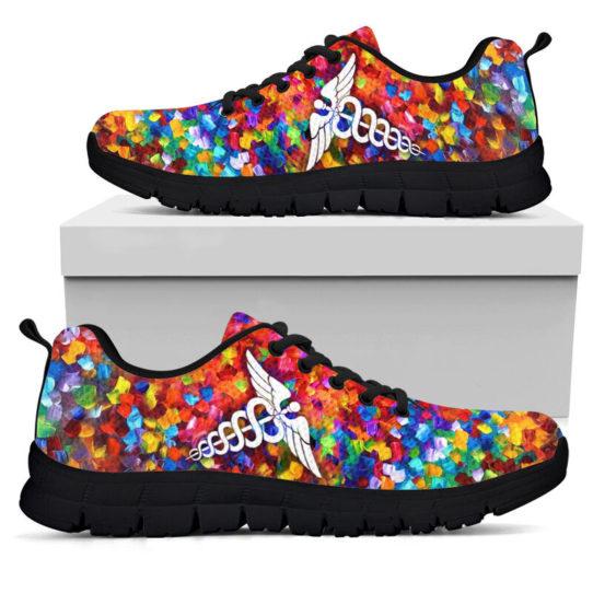 NURSING STUDENT PAINT ART KD@ proudnursing nursingstudentPA05432@sneakers 25593