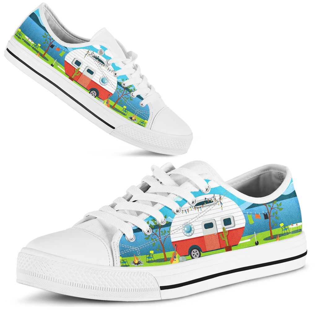 Camping car sky_anh Shoes License Plate