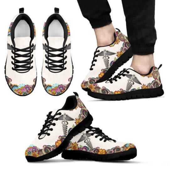 nurse-Paisley shoes mk@ proudnursing nursejikjdf154252@sneakers 25968