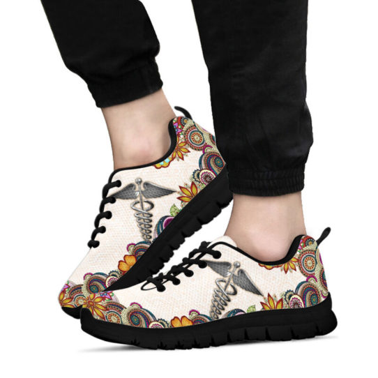 nurse-Paisley shoes mk@ proudnursing nursejikjdf154252@sneakers 25970