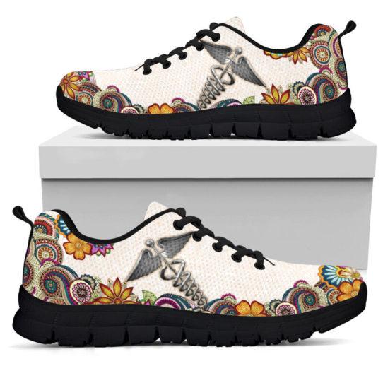 nurse-Paisley shoes mk@ proudnursing nursejikjdf154252@sneakers 25971