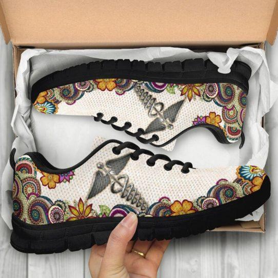 nurse-Paisley shoes mk@ proudnursing nursejikjdf154252@sneakers 25972