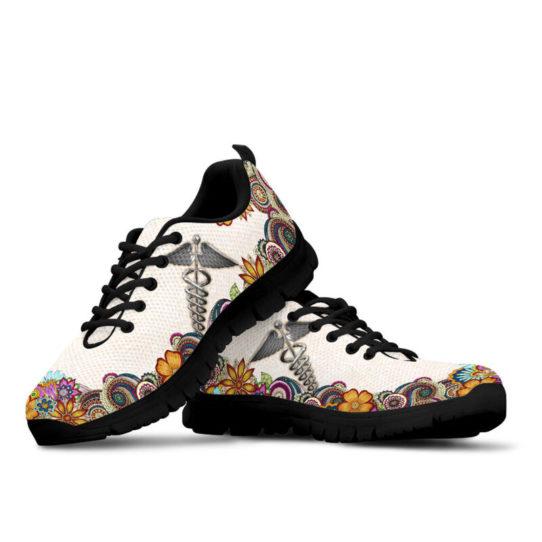 nurse-Paisley shoes mk@ proudnursing nursejikjdf154252@sneakers 25973