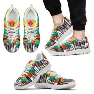 Art Teacher Sneakers@ rockinbee teacher brush 198@sneakers 101374